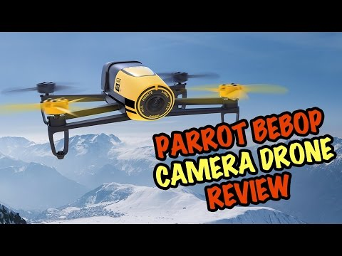 Parrot Bebop Drone Review - with Skycontroller