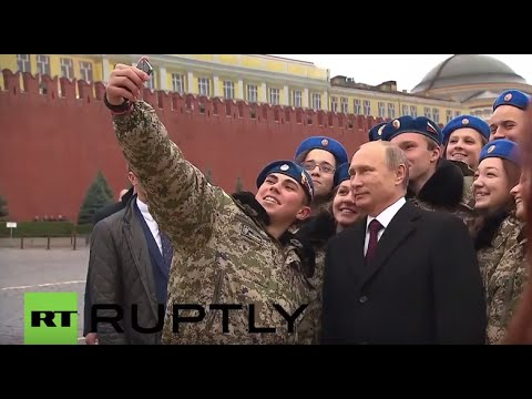 Russia: Putin attends Unity Day celebration at Red Square