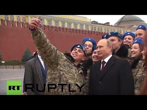 Russia: Putin attends