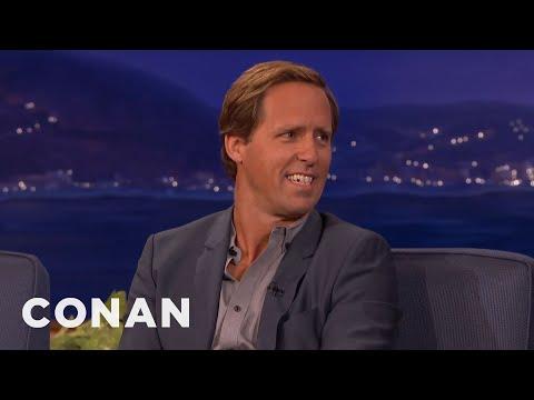 Nat Faxon Lives For His Adult Hockey League  - CONAN on TBS