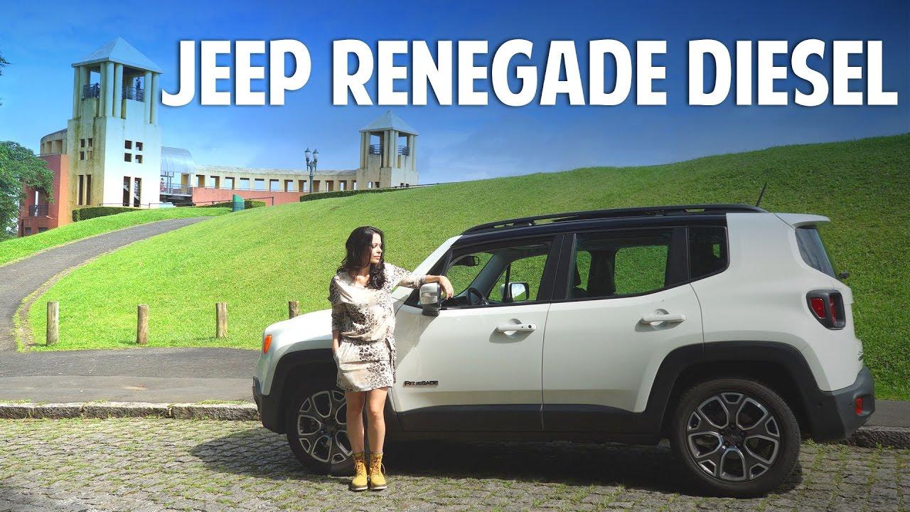 Teste Jeep Renegade Longitude 2 0 Turbodiesel 4x4 Youtube