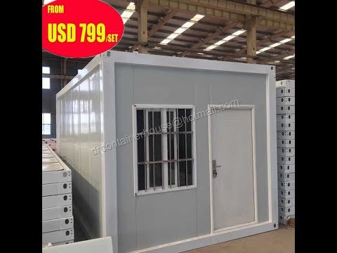 20ft prefab modular shipping container homes site office apartment affordable housing