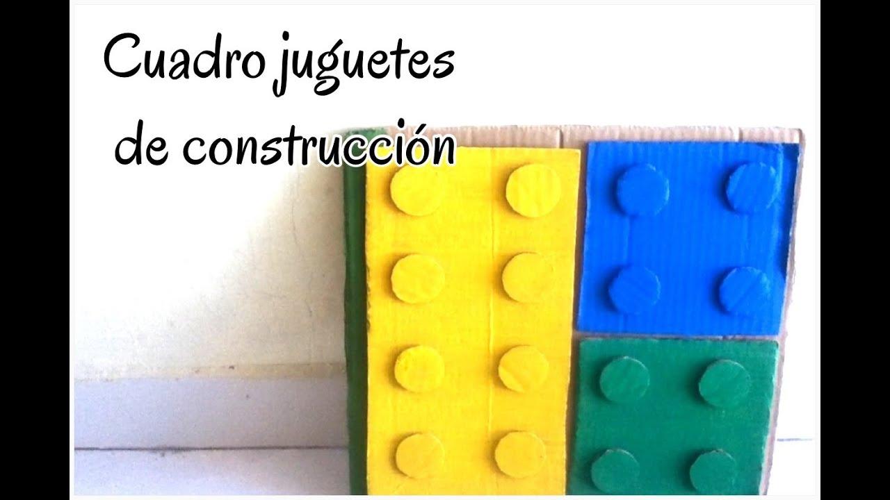 Cuadro en forma de lego para habitacion de ni os - Cuadros para habitacion de ninos ...