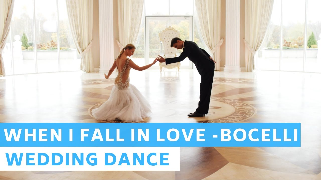 When I Fall in Love - Andrea Bocelli | Waltz | Wedding Dance Online | First Dance Choreography