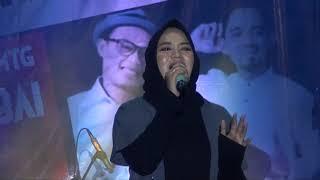 "Nassim Habbat Alaina ""Anisa Rahman konser amal di Lapangan Batalyon Yonif 621 Barabai 7/10/2018"""