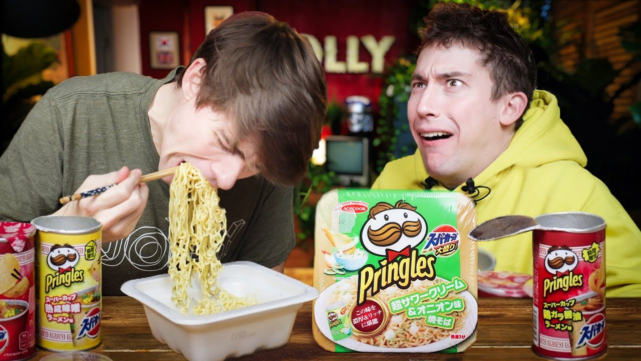 Pringles flavoured Ramen vs Ramen flavoured Pringles