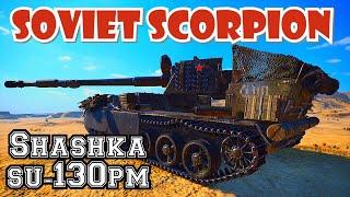 Tank Review Shashka SU-130 PM || World of Tanks Console PS4 XBOX Mercenaries