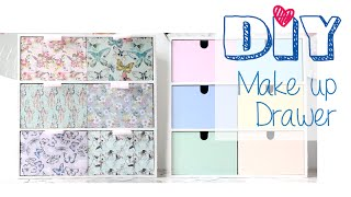 Diy│reversible Make-up Drawer│ikea Moppe