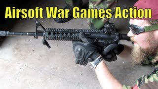 Airsoft War Games Action CQB in The UK