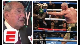 Bob Arum sees George Foreman-like fame for Tyson Fury   Fury vs. Schwarz fight preview