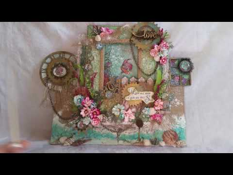 Under The Sea Mixed Media Canvas WIN $100 from Craft Fantastic