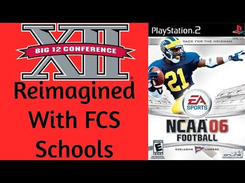 BIG 12 Conference Reveal - FCS Dynasty - NCAA Football 2006