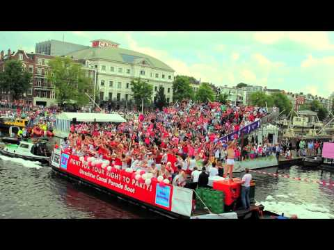 VipTribune Amsterdam Gay Pride 2012