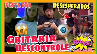 BBB 20: Prior Consola Daniel durante a festa, Pyong pede pra Sair do Jogo, Descontrole toma Conta.