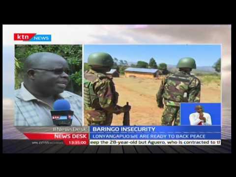 Baringo Senator Gideon Moi commends government efforts aimed at restoring peace in Baringo