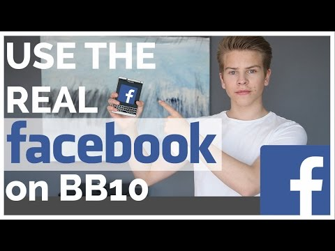 Use the REAL FaceBook app on BB10!