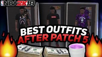 Best Outfits On NBA 2K18 After Patch 5 Bape Supreme Gucci Custom