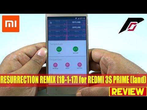 resurrection-remix-5.7.4-[18-1-17]-for-redmi-3s-prime-(land)-review