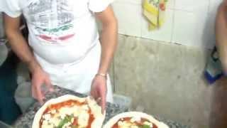 Pizza Napoletana - Impasto Salvatore Di Matteo - STG - Cottura