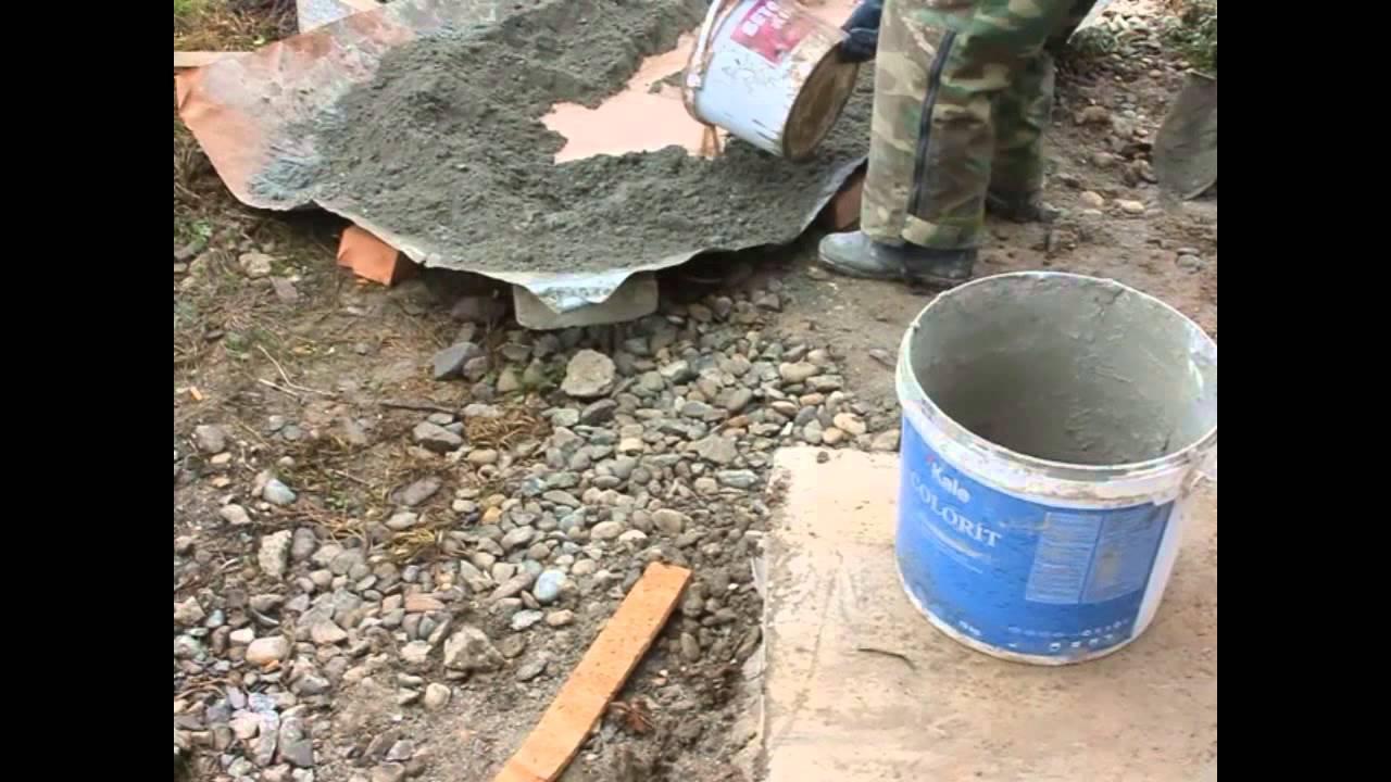 Как разводить бетонную смесь добавки пластифицирующие бетонную смесь