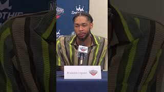 Brandon Ingram on recovery from blood clot, surgery
