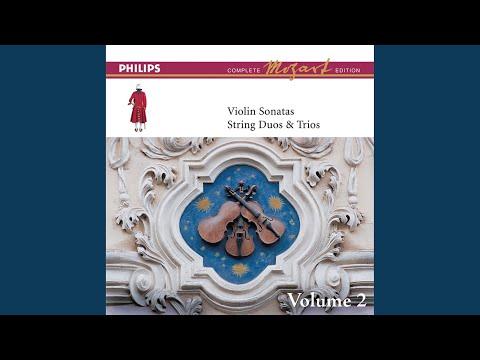 Mozart Sonata For Piano And Violin In E Minor K304 1 Allegro