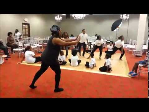 African Heritage Pageant Dance Practice One