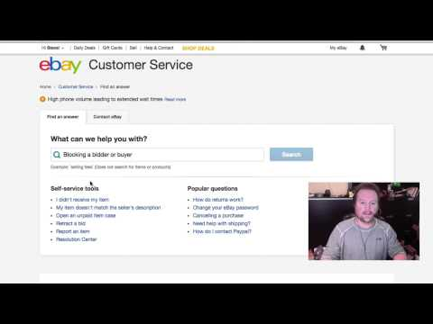 How To Block An Ebay Bidder Or Buyer