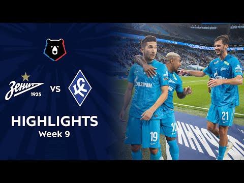 Zenit Petersburg Krylya Sovetov Samara Goals And Highlights