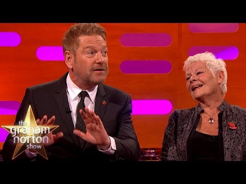Dame Judi Dench Exposed Herself to Kenneth Branagh!  The Graham Norton