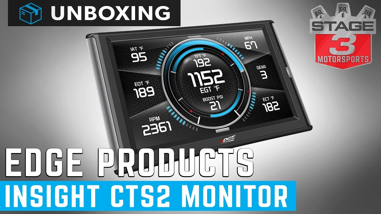 Edge Cts2 Monitor >> Edge Insight Cts2 Vehicle Monitor Unboxing