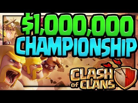 download $1,000,000 Playing Clash of Clans! The Clash of Clans World Championship!