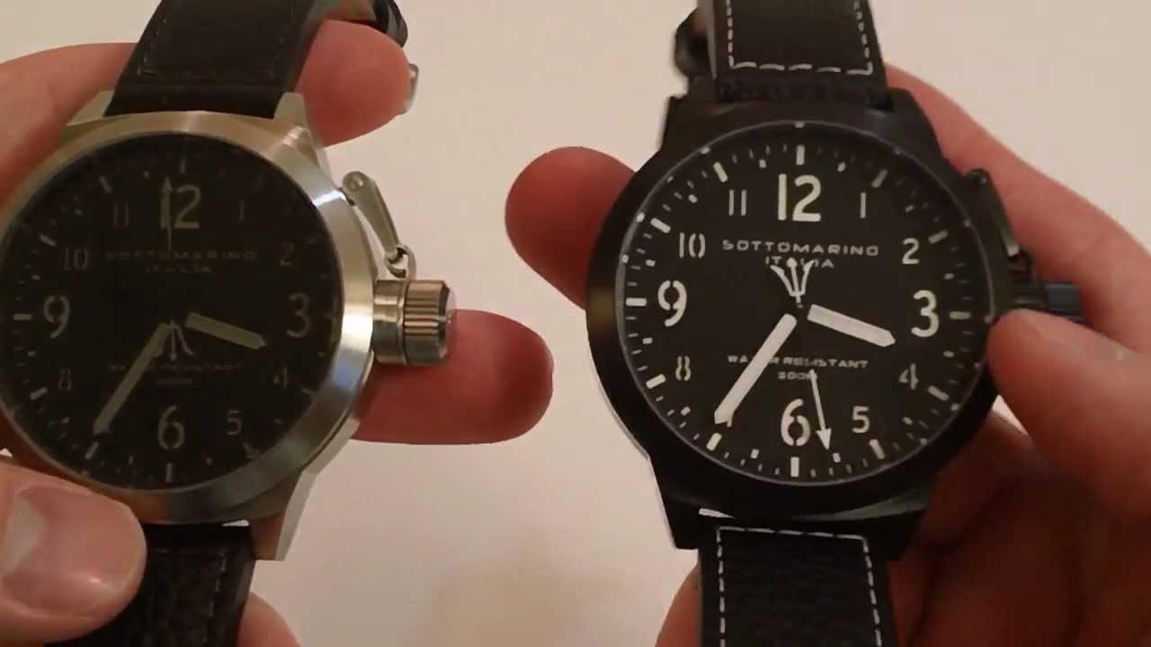 Sottomarino italia russo 200 meter dive watch youtube for Sottomarino italia