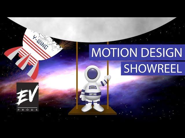 Bande-démo Motion Design - E.V.Prods. 2019