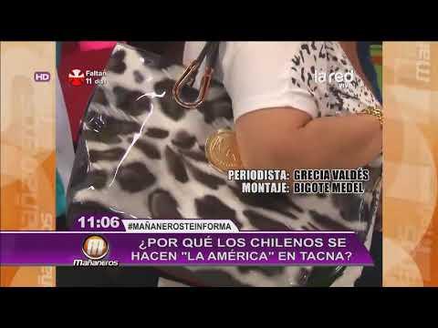 Chilenos mueren de hambre en su pais - viajan a tacna a sobrevivir.