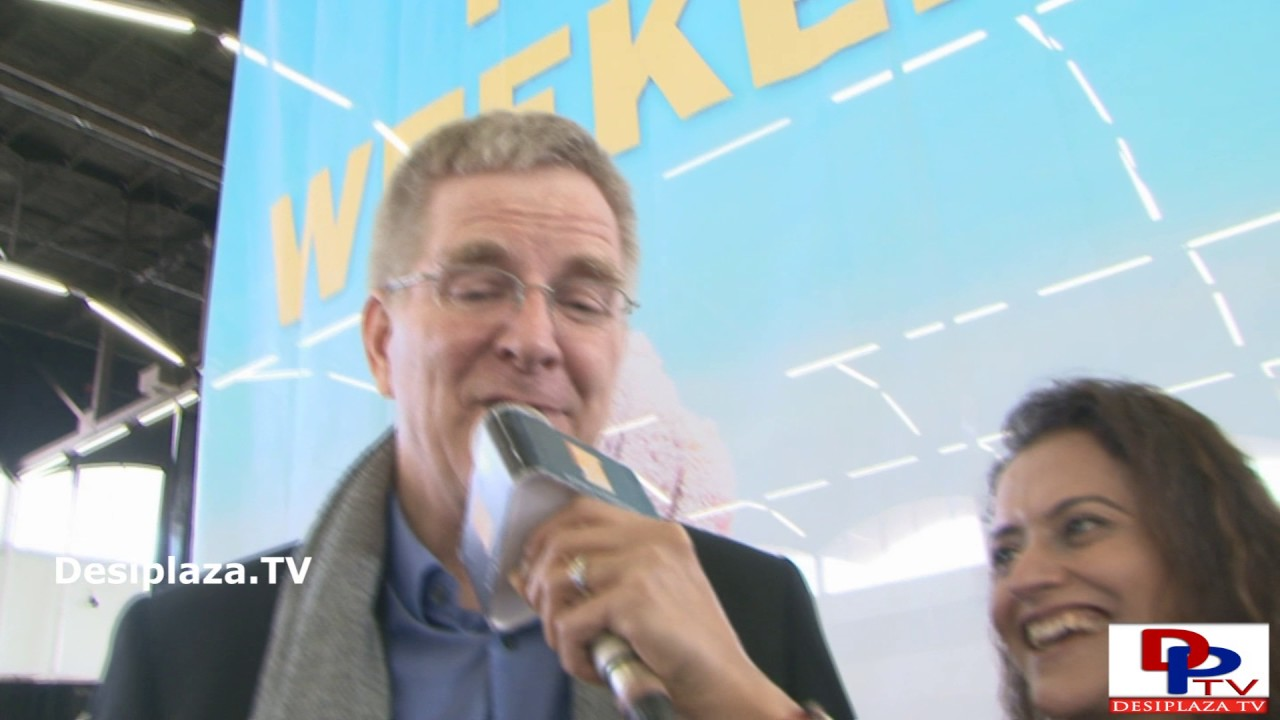 Rick Steves, Travel Show Host speaks to DesiplazaTV at Travel and Adventure Show || Dallas