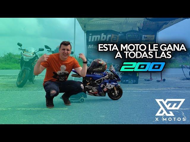 ESTA MOTO LE GANA A TODAS LAS 200 │ X MOTOS