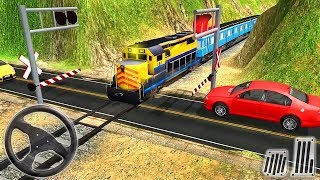 Indonesian Train Build Road: Craft Driving Train Simulation - Android Gameplay