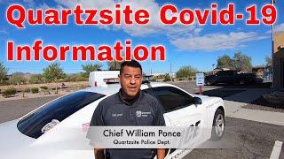 Town Of Quartzsite AZ Covid-19 Information - BLM Camp Areas Open