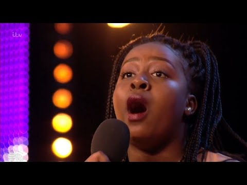Britain's Got Talent 2017 Sarah Ikumu Singer Full Audition S11E01