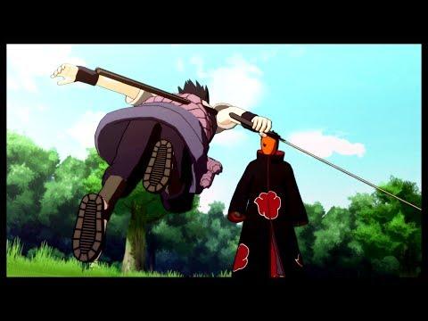 Sasuke plans to find Naruto - Naruto Shippuden Ultimate Ninja Storm 3 Game |