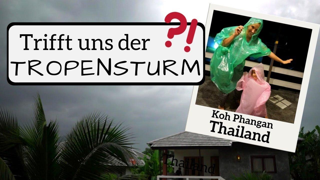 21fd789beb0fd1 Heftiger TROPENSTURM in Thailand erwartet! So haben wir Pabuk auf Koh  Phangan erlebt