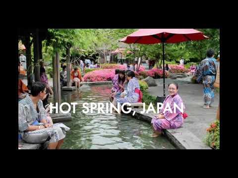 HOT SPRING IN TOKYO,JAPAN