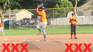 ⚾️BOY PITCHES 6 STRIKE OUTS⚾️ Little League Baseball | Marlins vs Mets