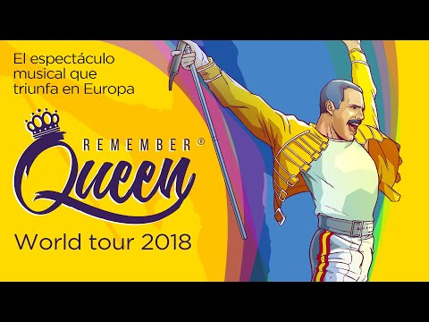 REMEMBER QUEEN (Trailer) - Teatro de la Luz Philips Gran Vía