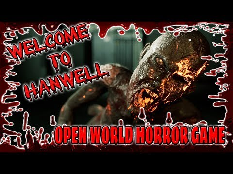 LIVE/ WELCOME TO HANWELL/OPEN WORLD HORROR GAME/PS4