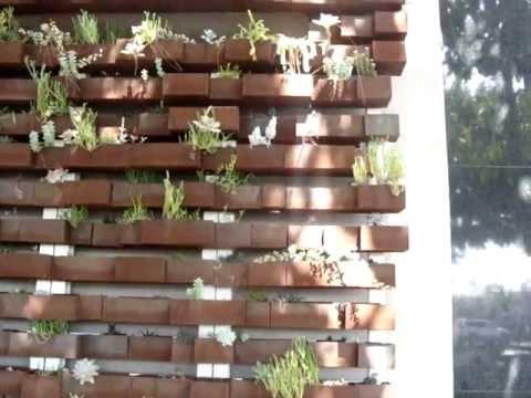 vertical garden at the LA Mart building