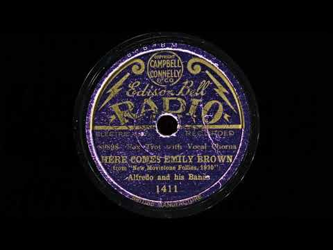 HERE COMES EMILY BROWN - Alfredo and His Band