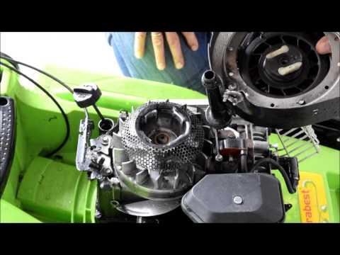 Rasenmäher mit einem BRIGGS+STRATTON Motor reparieren Teil 1
