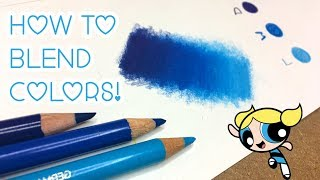 How to Smoothly Blend with Color Pencils! ♡
